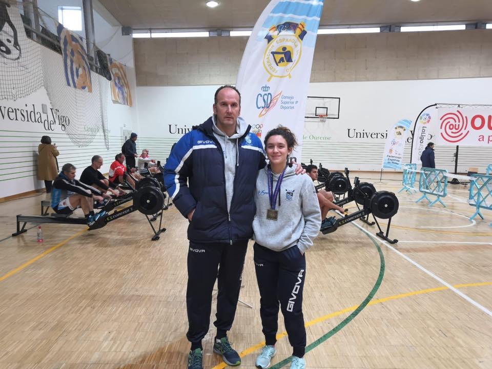 Nerea Lago (Club Remo Ribadeo), convocada para una Concentración del Equipo Nacional Juvenil Femenino