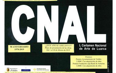 Abierto el plazo para participar en el L Certamen Nacional de Arte de Luarca