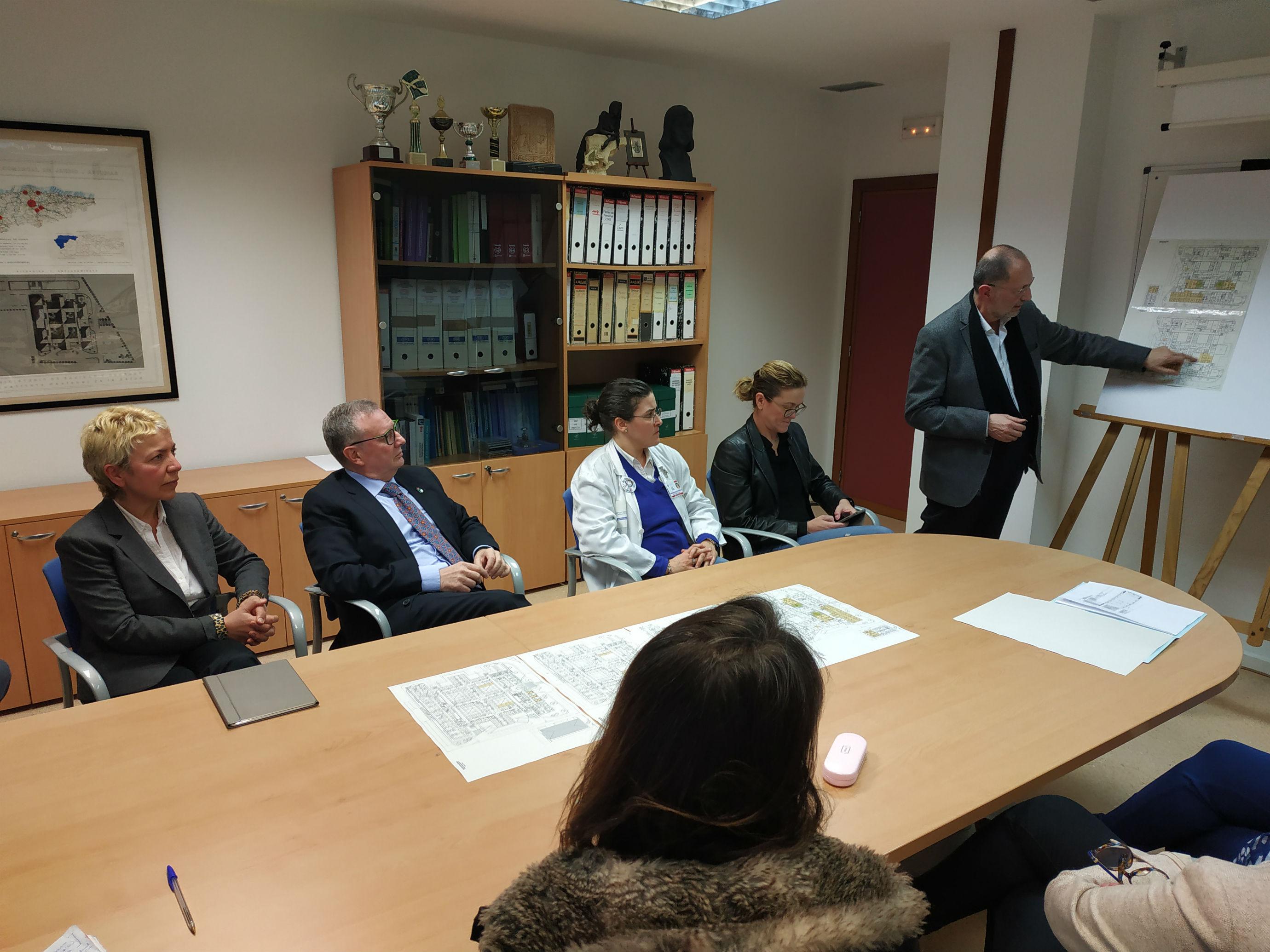Las obras de reforma del Hospital de Jarrio comenzarán la próxima semana
