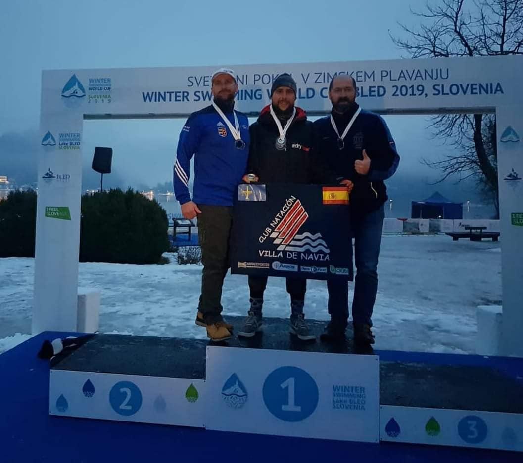 Mario Gorgojo, debuta con dos medallas en la Copa del Mundo de Aguas Heladas
