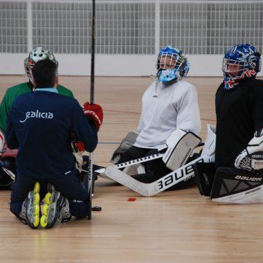 Cinco jugadores del Club Hockey Isla Pancha de Ribadeo participaron en la 2ª Jornada de Tecnificación de la Selección Gallega