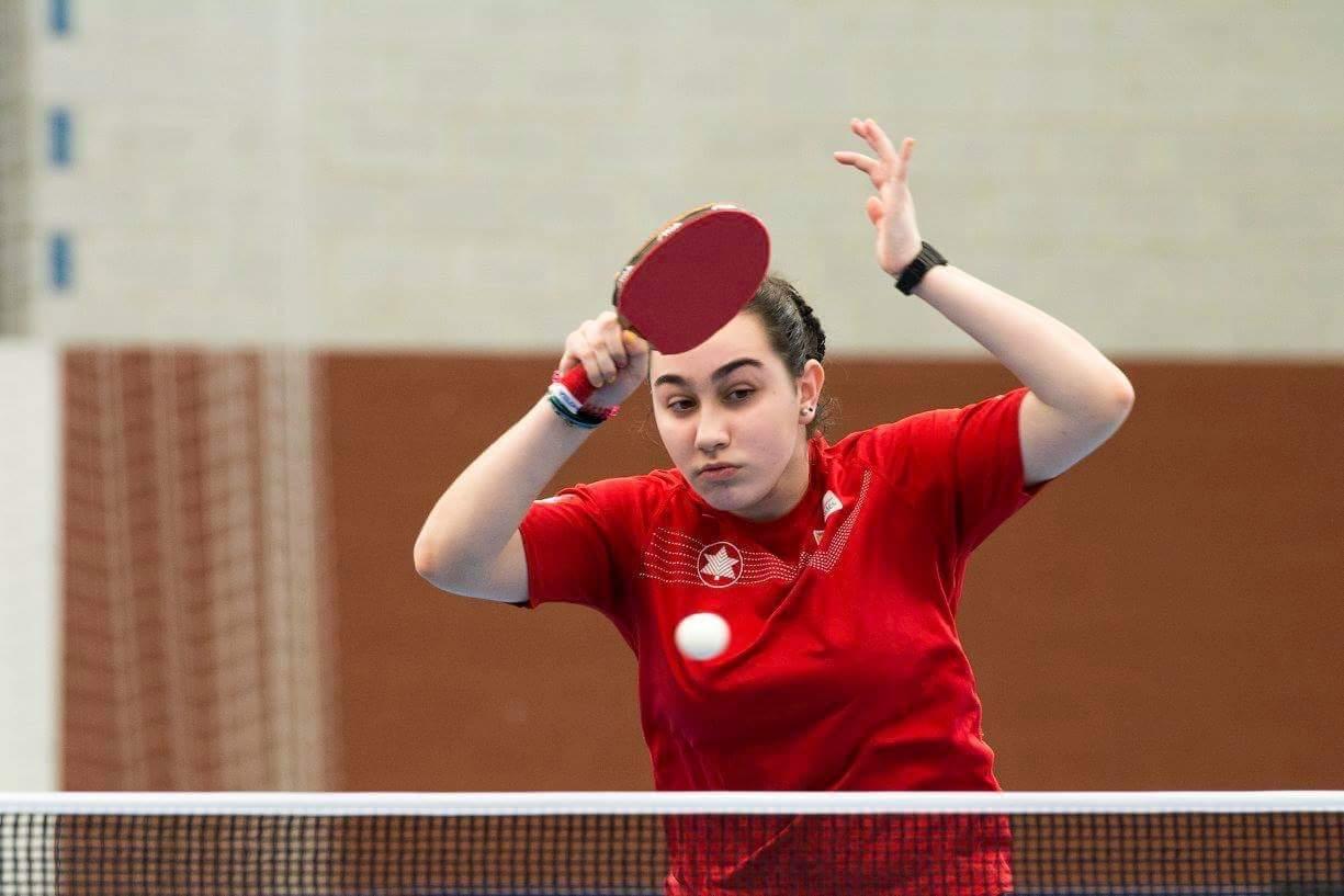 Itziar Dopico, única representante asturiana juvenil en el Estatal de Tenis de Mesa