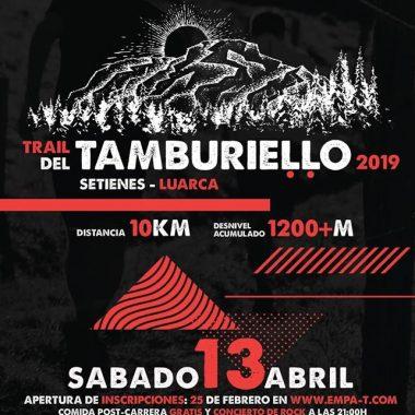 Todo preparado para el I Trail del Tamburiello con cerca de 200 participantes