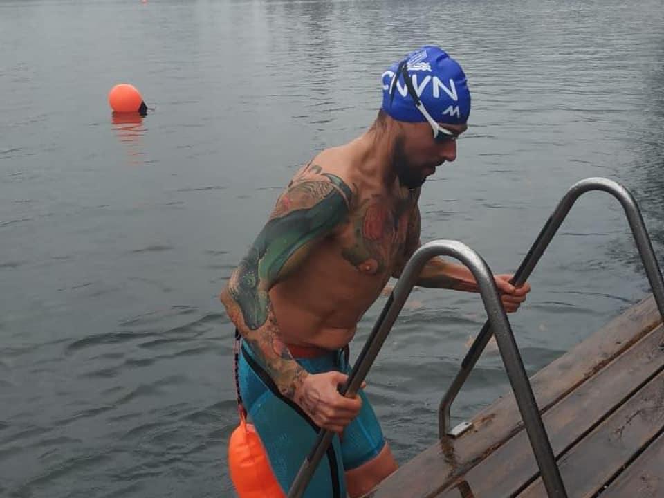 Mario Gorgojo, finaliza con cuatro medallas su participación en la Copa del Mundo de Aguas Heladas