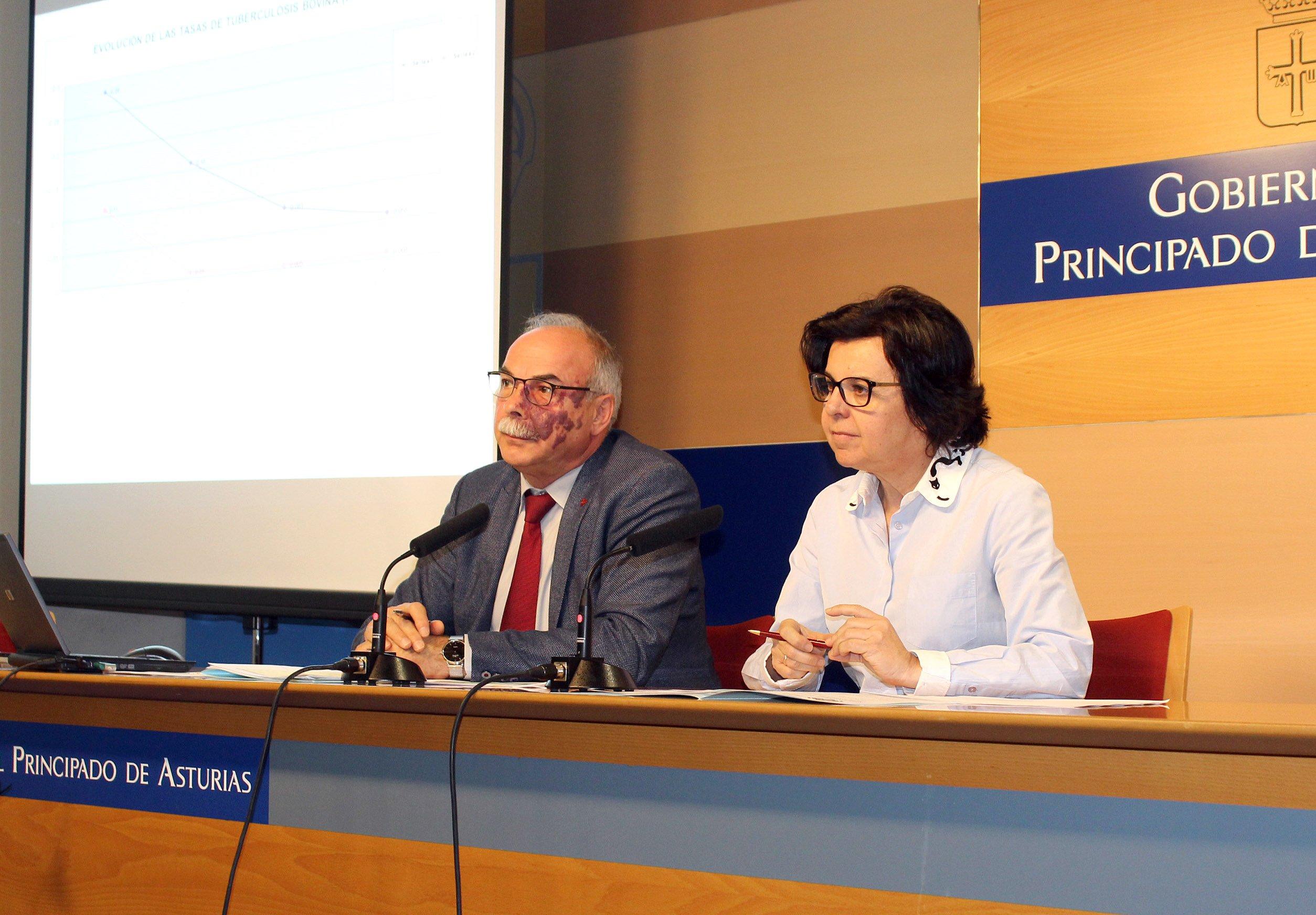 La  tuberculosis bovina se sitúa por debajo del 0,1% en Asturias, por segundo año consecutivo