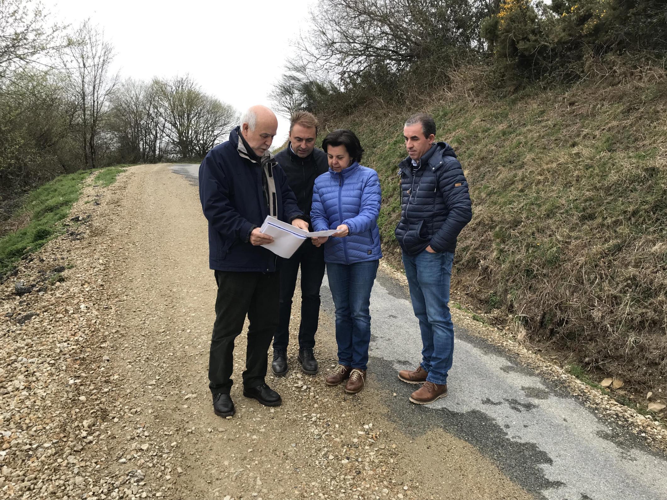 Desarrollo Rural invierte 177.000 euros en la mejora de accesos a Toleiras y Batribán (Villanueva de Oscos)