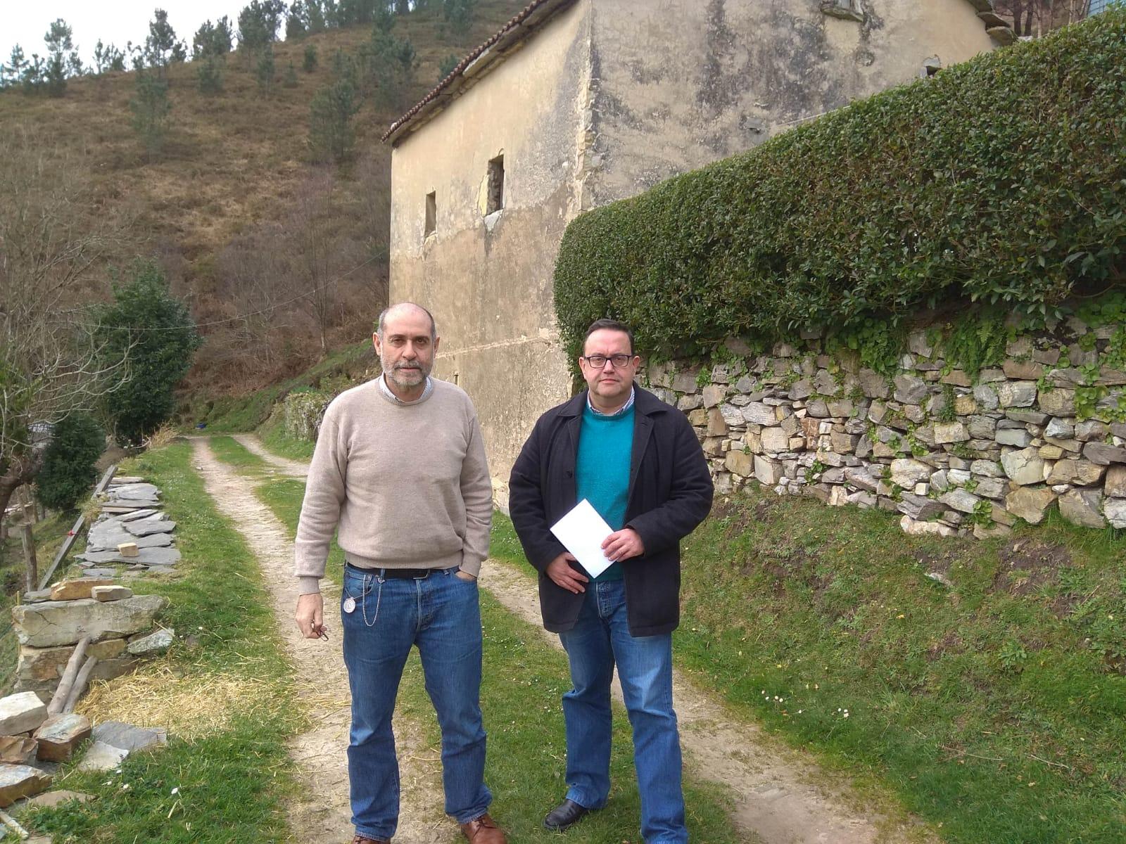 Ciudadanos Valdés denuncia que el depósito de extinción de incendios de El Ordial se encuentra vacío