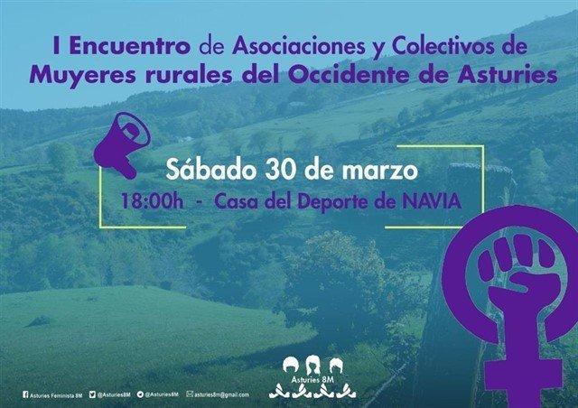 """""""I Encuentro de Asociaciones y Colectivos de Mujeres rurales del Occidente de Asturias"""" en Navia"""