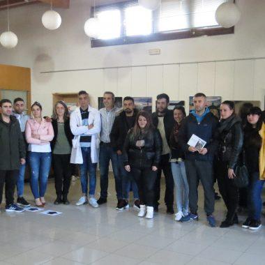 """Inaugurada la exposición """"Síntese"""", de l@s participantes en el taller de empleo DOC-TIC II de Ribadeo"""