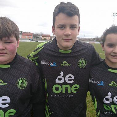 Tres Jugadores del Beone Rugby viajarán a Asturias con la Selección Gallega Sub-14 para preparar el Campeonato de España