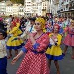El grupo Pop-Art llena de colorido los Carnavales de la comarca