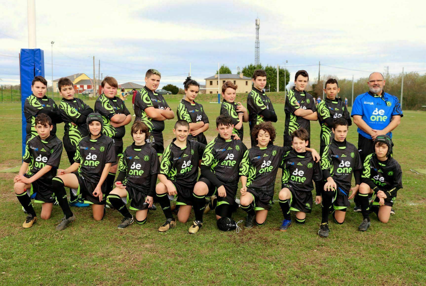 El Beone Rugby se encuentra finalizando las dos competiciones en las que participa