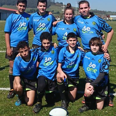 Buenas Sensaciones del Beone Ribadeo, en el inicio de la temporada de Rugby Seven en Asturias
