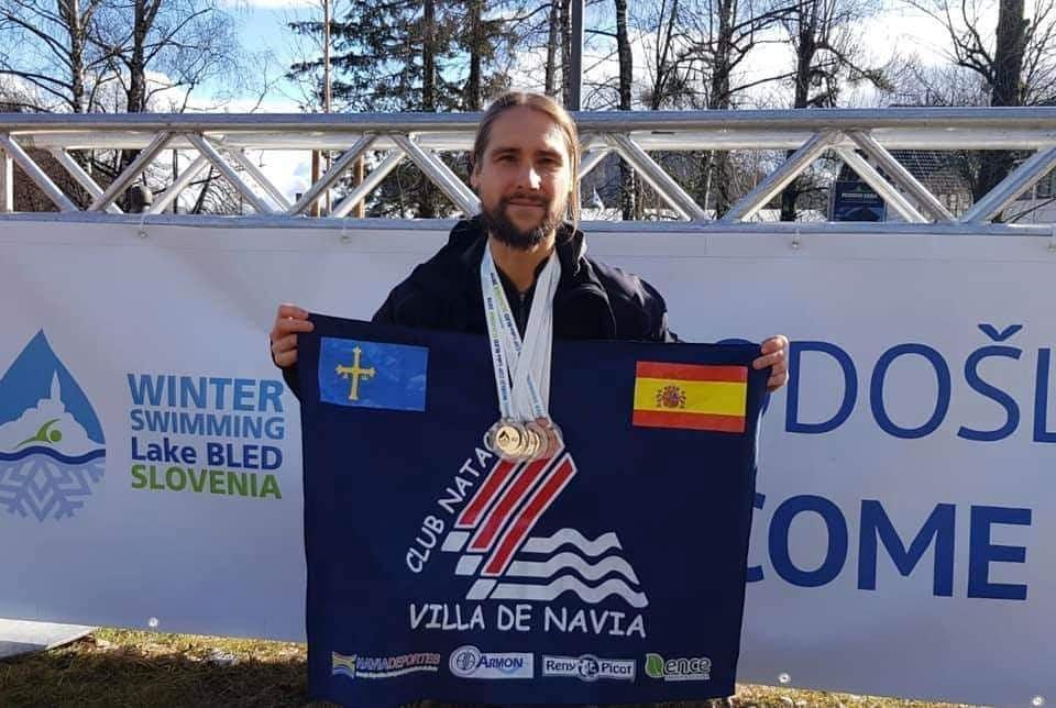 Mario Fernández Gorgojo (CN Villa de Navia), al Mundial de Natación en Aguas Heladas