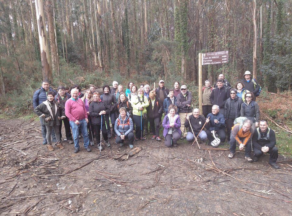 El Grupo de Montaña La Chiruca realizará el sábado la Ruta de las Foces del Esva