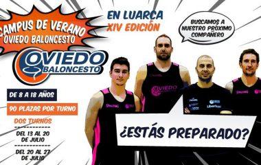 Campus de Verano del Oviedo Club Baloncesto en Luarca
