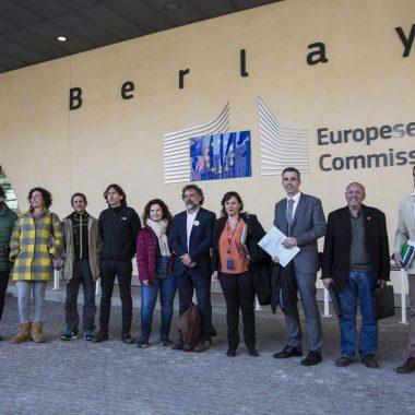 El alcalde de Ribadeo expone en Bruselas lo que se ha hecho desde el ayuntamiento para cumplir con la Ley de Incendios de Galicia