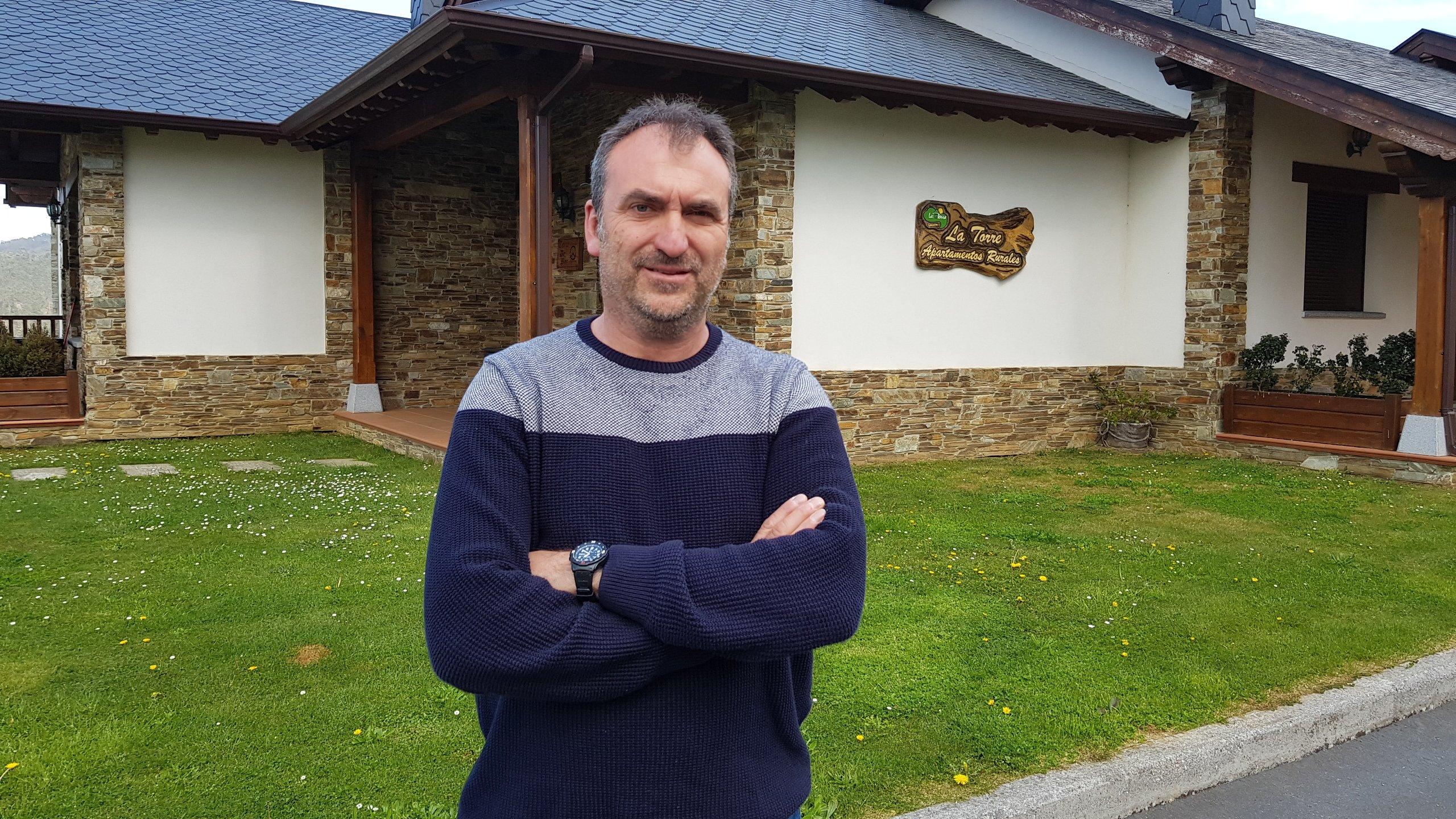 """Luis Gabriel Suárez, presidente de AVATUR: """"habría que traer a la zona, un módulo que ofrezca formación en materia de turismo rural y activo"""""""