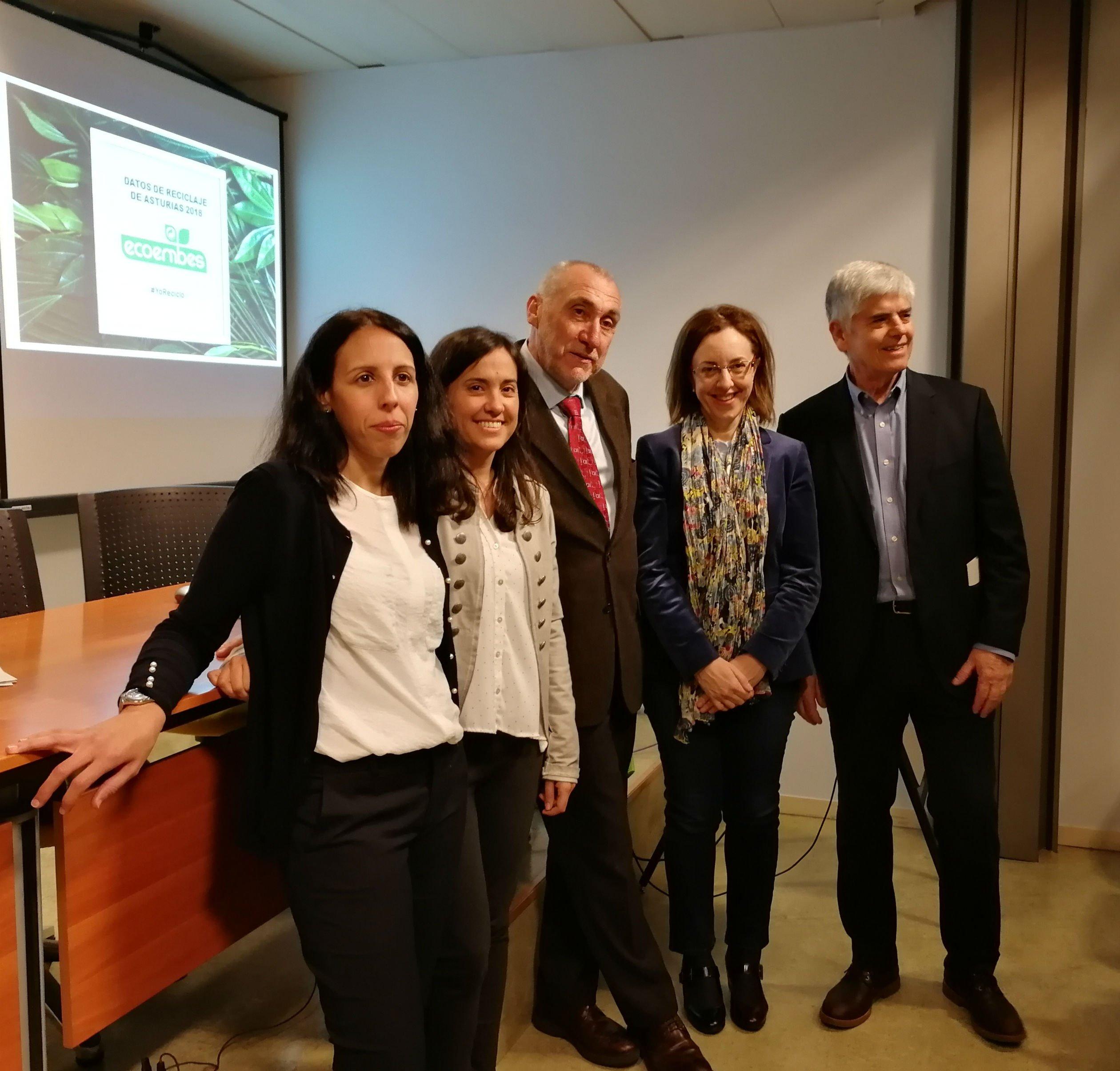 Asturias recicló 19.270 toneladas de envases en 2018