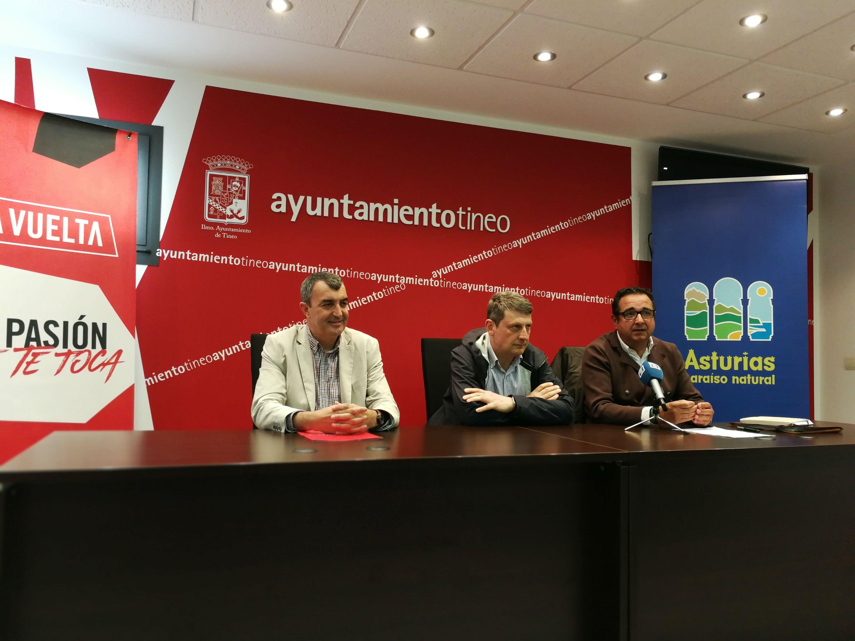 Presentación de la 15ª Etapa de la Vuelta Ciclista a España que partirá de Tineo