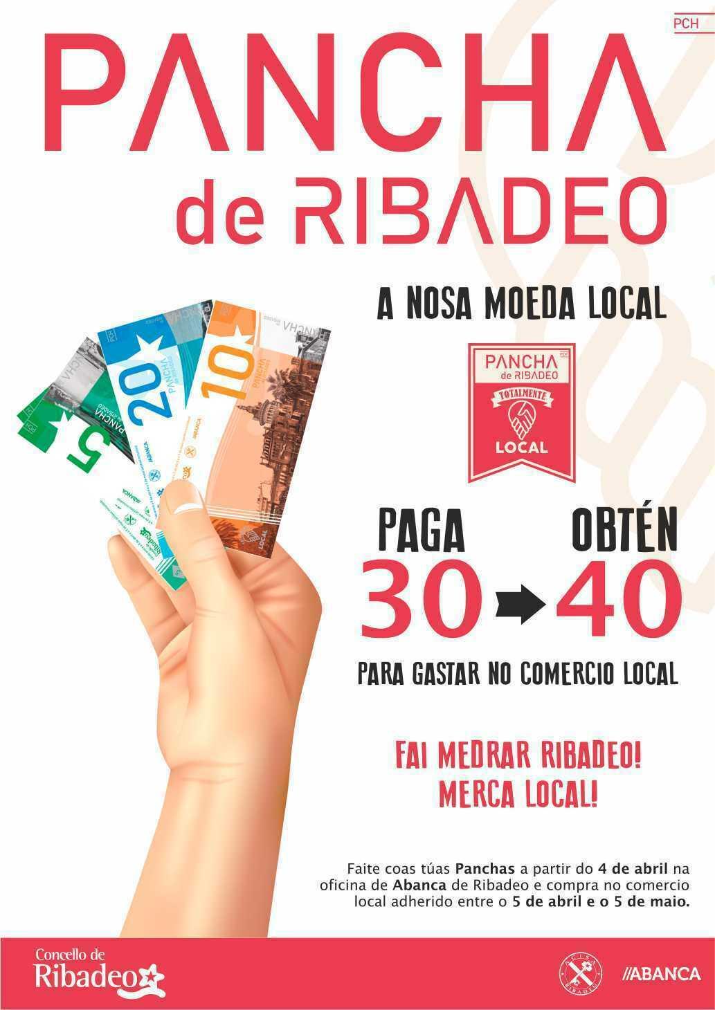 """Arranca en Ribadeo la campaña de """"a pancha"""", de fomento y apoyo al comercio local"""