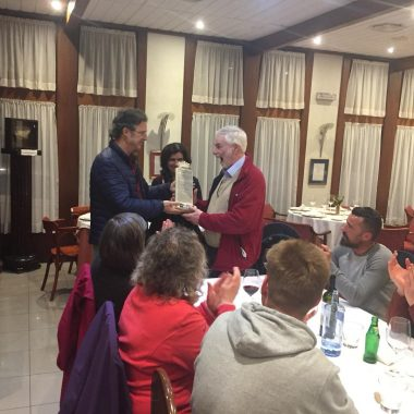 Más Luarca Valdés homenajea al profesor Rutter