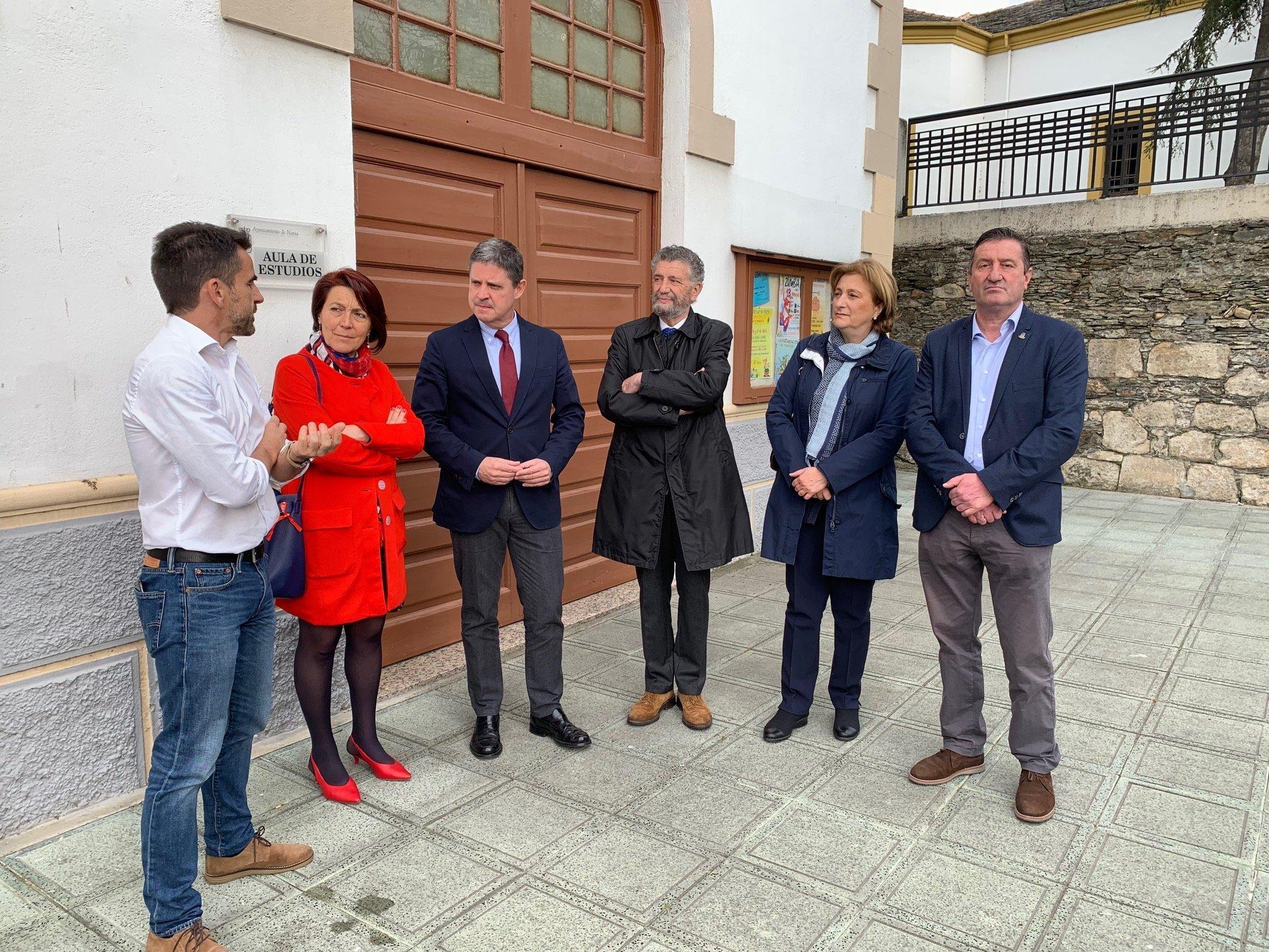 La Delegada del Gobierno visita el CEDER Navia-Porcía