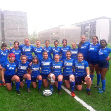 La tapiega Gabrielle Colón (Navia Rugby Club), participó con Asturias en un Torneo Internacional en Galicia