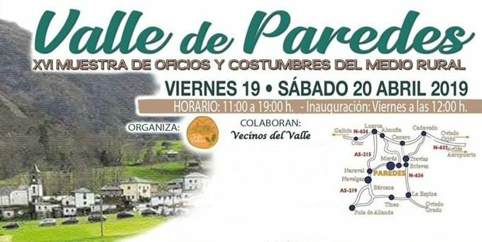 Muestra de Oficios y Costumbres del Medio Rural en Paredes (Valdés)