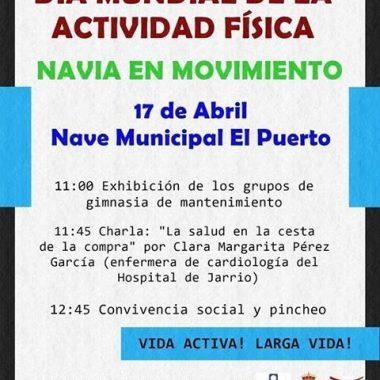 Este miércoles en la Nave El Puerto se desarrollará la Actividad Navia en Movimiento