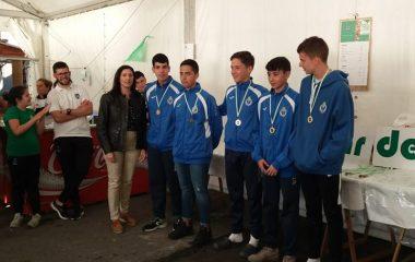 Náutico de Luanco y Club de Mar Castropol Femenino, Campeones de Asturias de Bateles