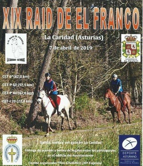 El domingo se celebra el XIX Raid Ecuestre de El Franco