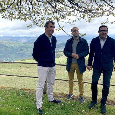 Presentación de la 15ª Etapa de la Vuelta Ciclista a España que finaliza en el Santuario del Acebo