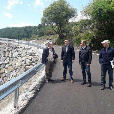 El Principado finaliza las obras del acceso a Guieiro (Villanueva de Oscos)