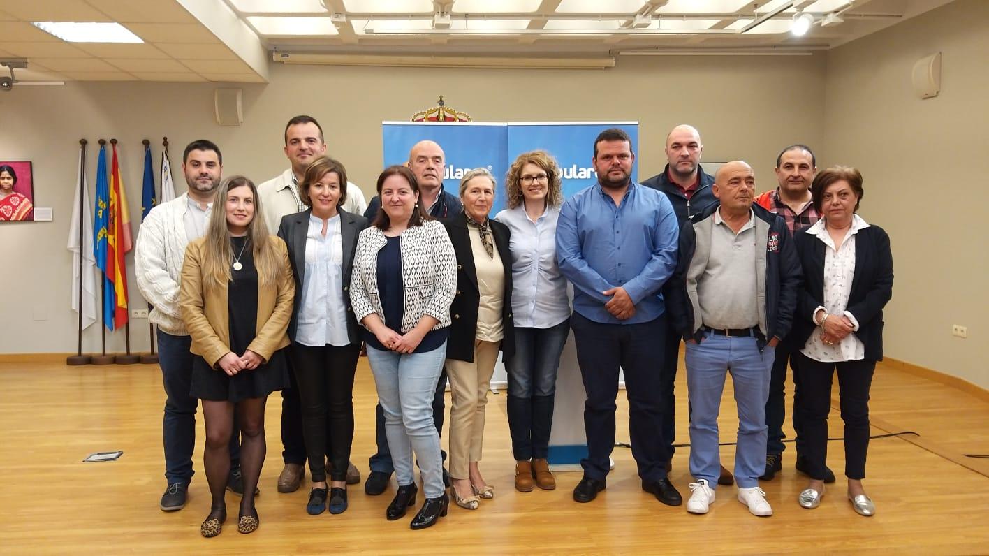 El PP de Navia presenta su candidatura para las municipales de mayo