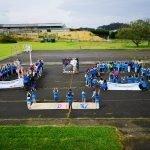 """El colegio de Puerto de Vega se suma a la iniciativa """"Un millón de manos para decir NO a la guerra contra la infancia"""""""