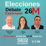 Este miércoles, Debate 26-M Alcaldía de Castropol