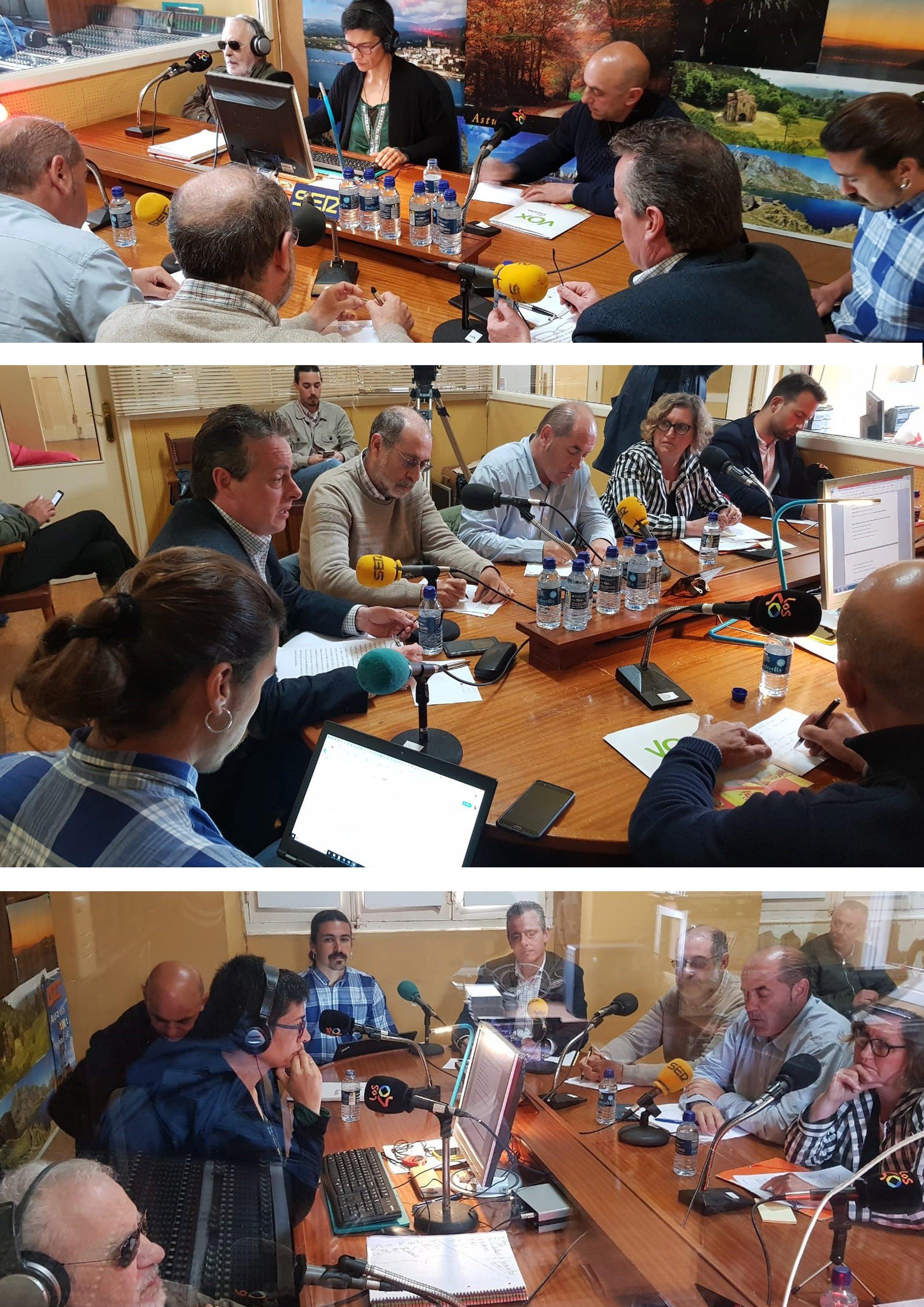 Debate 26-M Candidatos Circunscripción Occidental Junta General Principado