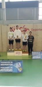 Cinco Oros, Dos Platas y Seis Bronces para el Club Bádminton Vegadeo en el Regional Escolar