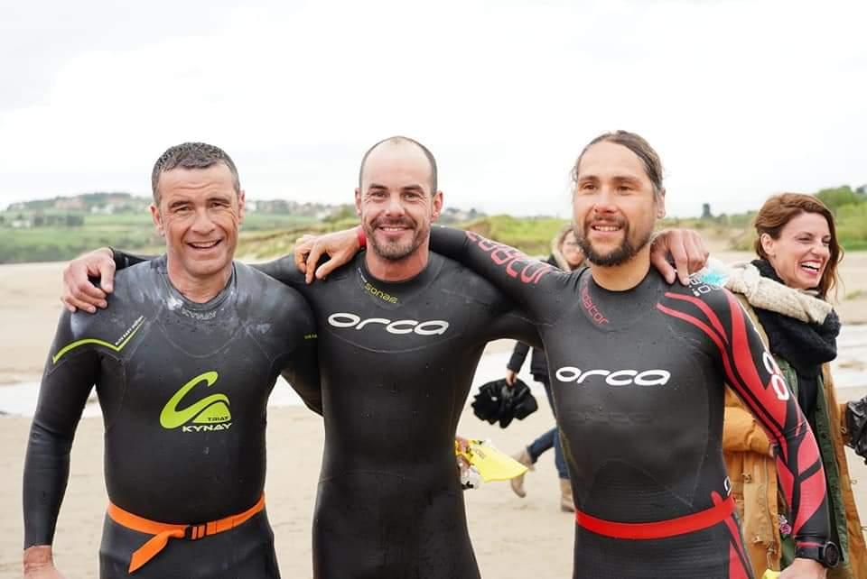Mario Gorgojo, plata en los 10 kms del Soplao de Aguas Abiertas