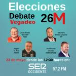 Debate 26-M Alcaldía de Vegadeo: jueves, 23 de mayo