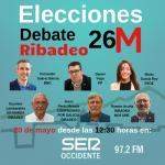Este lunes, Debate 26 M- Alcaldía de Ribadeo