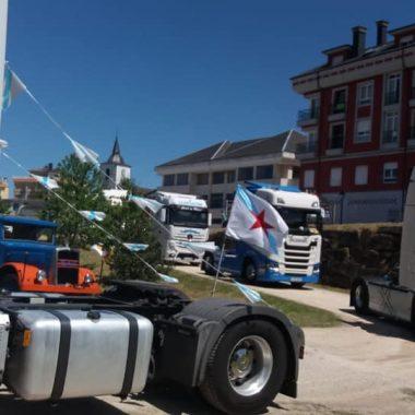 Cerca de 50 Vehículos en la I Quedada de Camiones El Franco