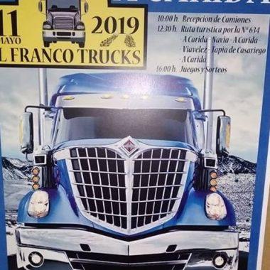 El Sábado se celebra la I Quedada de Camiones El Franco