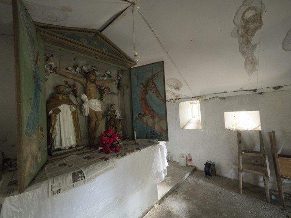 Campaña de micromecenazgo pá recuperar a capilla de Santo Domingo de la Calzada de Fontescavadas (Bual)