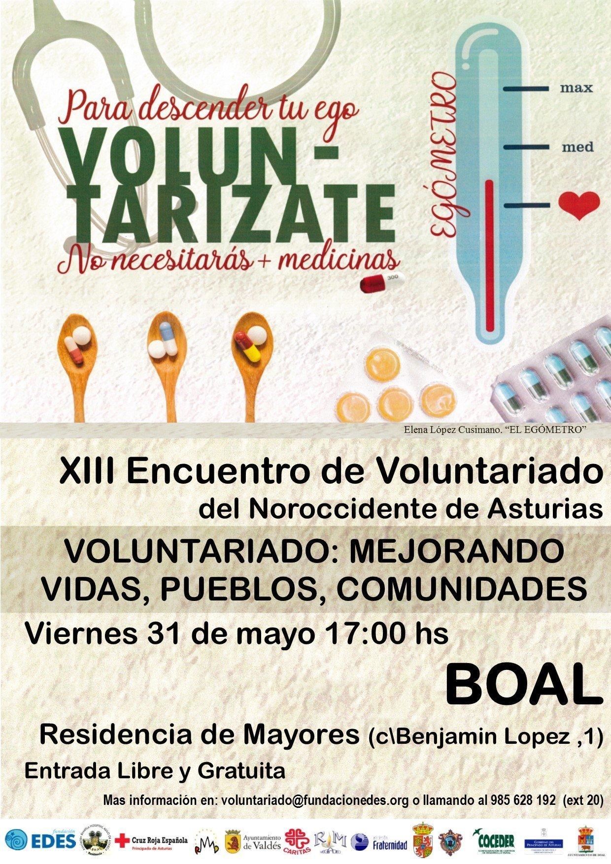 XIII Encuentro del Voluntariado del Noroccidente de Asturias