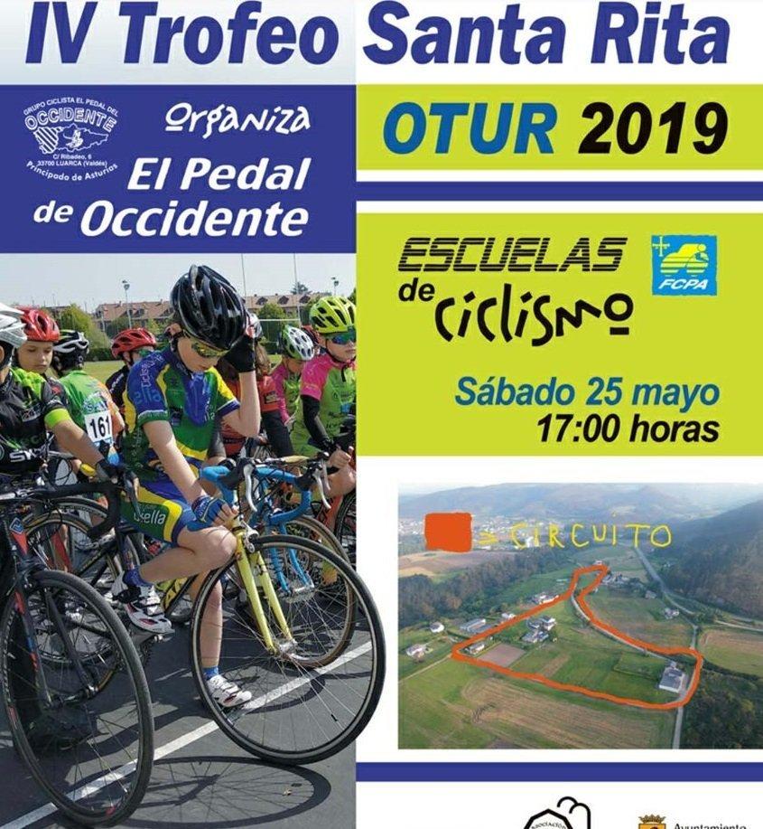 IV Trofeo Santa Rita de Ciclismo el 25 de mayo en Otur
