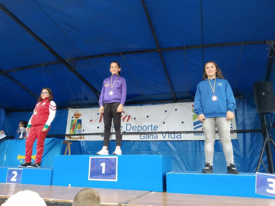 Dos Bronces para el Club Albiones en la 3ª Prueba de los Juegos Deportivos disputada en Navia