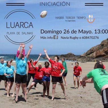 Quedada de Promoción del Rugby Femenino en Luarca el próximo Domingo