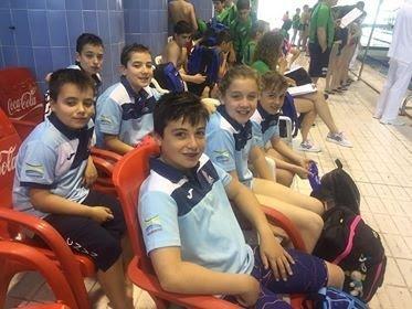 Los Nadadores Naviegos participaron en la 8ª Jornada de los Juegos Deportivos